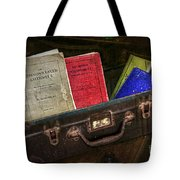 Old School Days Tote Bag by Kaye Menner