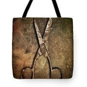 Old Scissors Tote Bag by Carlos Caetano