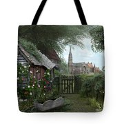Old Shed Tote Bag by Dominic Davison