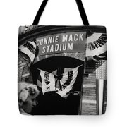 Old Shibe Park - Connie Mack Stadium Tote Bag by Bill Cannon