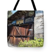 Old Storage Shed At the Swiss Hotel Sonoma California 5D24459 Tote Bag by Wingsdomain Art and Photography