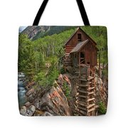 Old Time Colorado Tote Bag by Adam Jewell