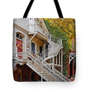 Old Town Chicago Living Tote Bag by Christine Till