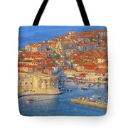 Old Town Dubrovnik Tote Bag by Douglas J Fisher