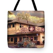 Old Town Irvine Country Store Tote Bag by Ronald Chambers