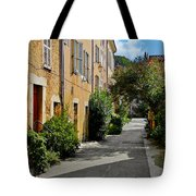 Old town of Valbonne France  Tote Bag by Christine Till