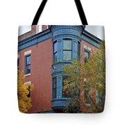 Old Town Triangle Chicago - 424 W Eugenie Tote Bag by Christine Till