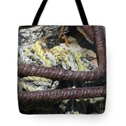 Old Trap Close-up Tote Bag by Minnie Lippiatt