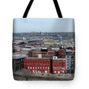 Old West Bottoms Kcmo Tote Bag by Liane Wright