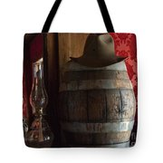 Old West Saloon Tote Bag by Juli Scalzi