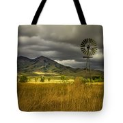 Old Windmill Tote Bag by Robert Bales
