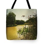 Old Woman Creek  Tote Bag by Shawna Rowe
