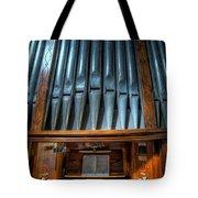 Olde Church Organ Tote Bag by Adrian Evans