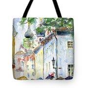 Oldtown Tallinn Estonian Tote Bag by John D Benson