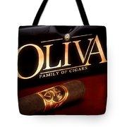 Oliva Cigar Still Life Tote Bag by Tom Mc Nemar
