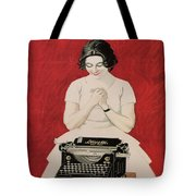 Olivetti Tote Bag by Nomad Art And  Design