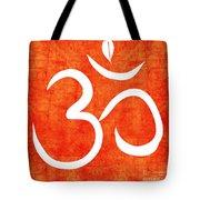 Om Spice Tote Bag by Linda Woods