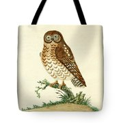 Ominous Owl Tote Bag by Philip Ralley