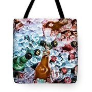 On Ice Tote Bag by Lana Trussell
