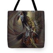 On Sacred Ground Series IIl Tote Bag by Ricardo Chavez-Mendez