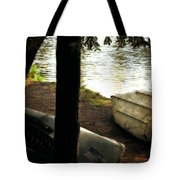 On The Island Tote Bag by Michelle Calkins