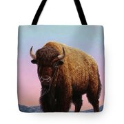 On Thin Ice Tote Bag by James W Johnson