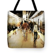 On Time Tote Bag by Diana Angstadt