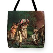 On To Liberty Tote Bag by Theodor Kaufmann