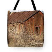 Once Occupied Tote Bag by Fran Riley