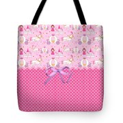 Once Upon A Princess Tote Bag by Debra  Miller