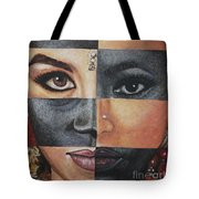 One And The Same Tote Bag by Malinda  Prudhomme