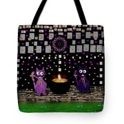 One Cat Named Dali The Other Salvador Tote Bag by Pepita Selles