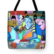 One For The Road Tote Bag by Anthony Falbo