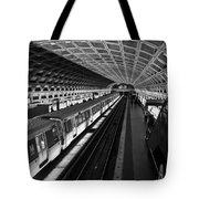 One Point Perspective Tote Bag by Lynn Palmer