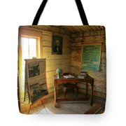 One Room School Tote Bag by John Malone
