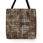 One Through Six Tote Bag by Carol Leigh