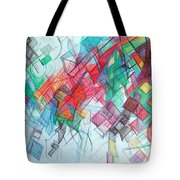 only through the blessing of Hashem Yisborach 1 Tote Bag by David Baruch Wolk