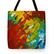Only Till Eternity 2nd Panel Tote Bag by Sharon Cummings