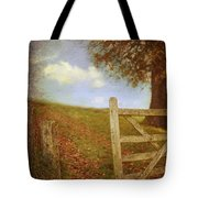 Open Country Gate Tote Bag by Amanda And Christopher Elwell