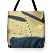 Opposite Direction Tote Bag by Karol Livote