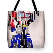 Optimus Prime Tote Bag by Ayse Deniz