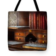 Optometrist - Glasses - Career Paths  Tote Bag by Mike Savad