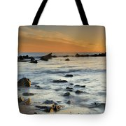 Orange At Sunset Tote Bag by Guido Montanes Castillo
