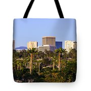 Orange County California Office Buildings Picture Tote Bag by Paul Velgos