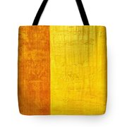 Orange Pineapple Tote Bag by Michelle Calkins