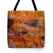 Orange Rock Formation Tote Bag by Jeff Swan