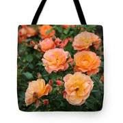 Orange Roses Tote Bag by Carol Groenen