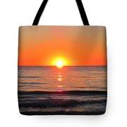 Orange Sunset  Tote Bag by Sharon Cummings