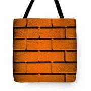 Orange Wall Tote Bag by Semmick Photo