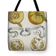 Oranges Tote Bag by Cornelis Bloemaert